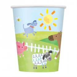 Farm Party Cups