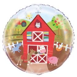 Farm Party Foil Balloon