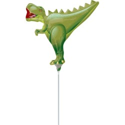 T-Rex Dinosaur MiniShape Foil Balloon
