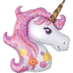 Magical Unicorn SuperShape Foil Balloon
