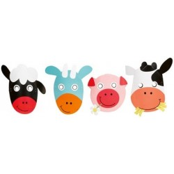 Farm Fun Masks Set