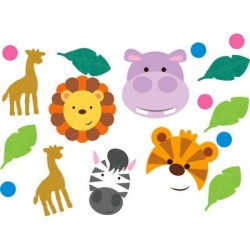 Jungle Animals Mini Confetti