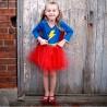Lightning Superheroine Fancy Dress 5 - 6 years