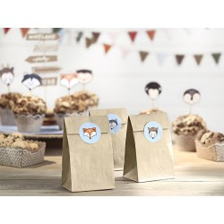 Woodland Treat Bags with Stickers