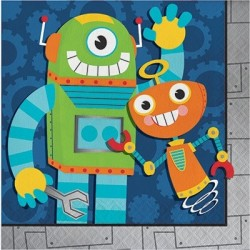 Robot Party Lunch Napkins
