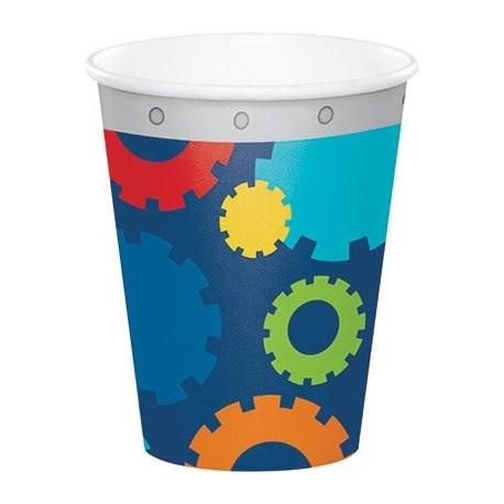 Bicchieri per festa tema Robot
