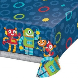Robot Party Tablecover