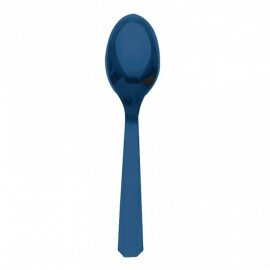 Cucchiai Plastica Blu 10pz