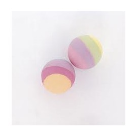 Mini multicoloured bounce balls