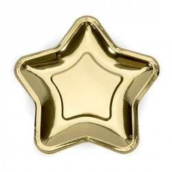 Gold Star Plates