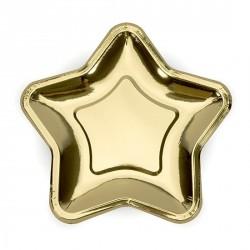 Piattini Stella Oro