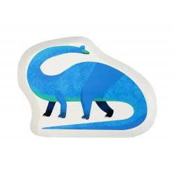 Piatti Sagomati Dinosauro Brachiosaurus 12pz