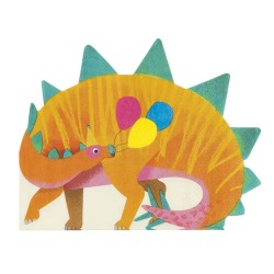 Dino Fun Shaped Napkins