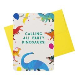 Dino Fun Party Invitations