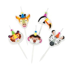 Party Animals Candles Set
