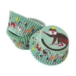 Party Animals Cupcake Cases