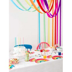 Rainbow Streamers Decoration