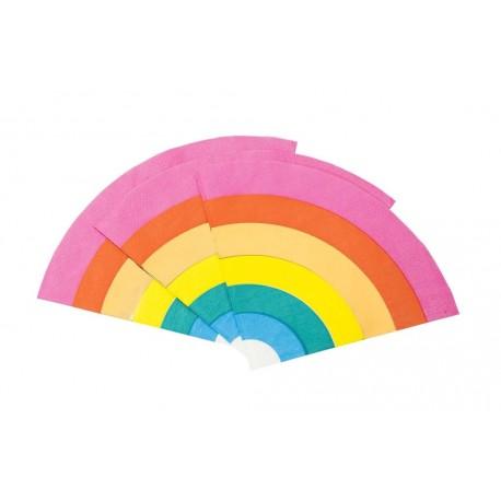 Rainbow Foil Napkins
