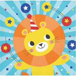 Circus Party Beverage Napkins