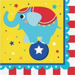Circus Party Lunch Napkins