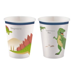 Happy Dinosaur Cups