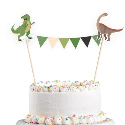 Happy Dinosaur Cake Topper