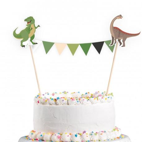 Happy Dinosaur Cake Topper
