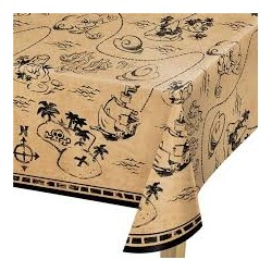 Pirates Treasure Map Tablecover