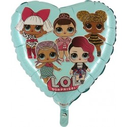 LOL Surprise Heart Foil Balloon