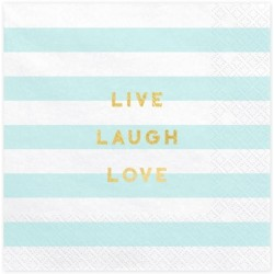 Live Laugh Love Napkins