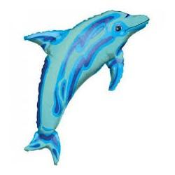 Dolphin Minishape Foil Balloon
