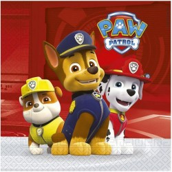 Paw Patrol Ready for Action Lunch Napkins