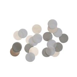 Silver Foil and Paper Confetti