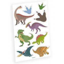 Tatuaggi Dinosauri 9 pz