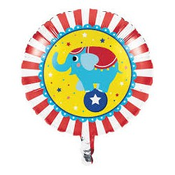 Circus Party Foil Balloon