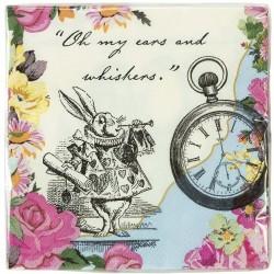 Tovaglioli Truly Alice - Festa tema Alice nel Paese delle Meraviglie