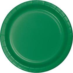 Emerald Green Dessert Plates