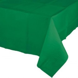 Emerald Green Paper Tablecover