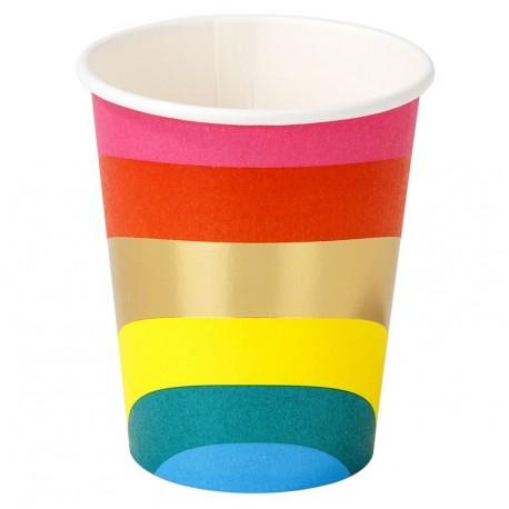 Rainbow Cups