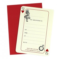 Truly Alice Invitations