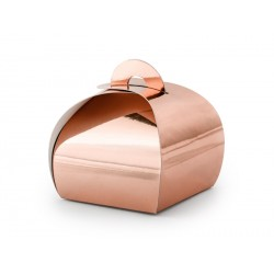 Rose Gold Favor Boxes
