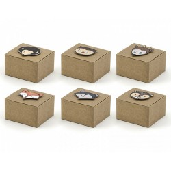 Woodland Treat Boxes with Stickers