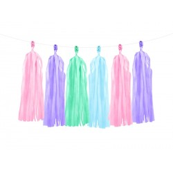 Mixed Colors Tassel Garland