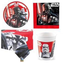 Set Festa Star Wars per 8 bambini
