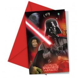 Biglietti Invito compleanno Star Wars