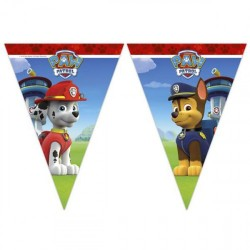 Paw Patrol Flags Banner
