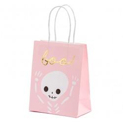 Halloween Favor Bags Pink
