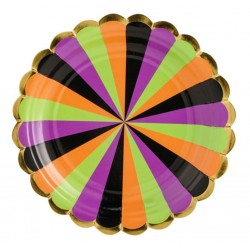 Trick or Treat Dessert Plates