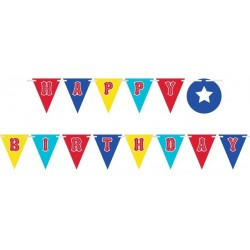 Banner Bandierine Compleanno Circo