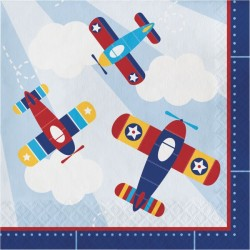 Flyer Airplane Napkins